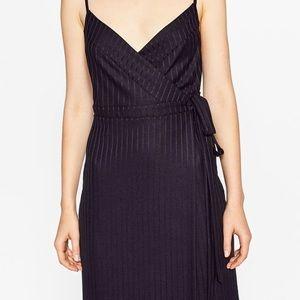 Zara Crossover Bowed Dress